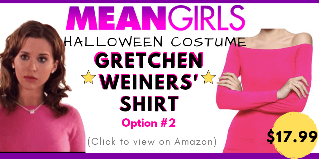 Gretchen Weiners Halloween Costume Mean Girls Besthalloweenideas The only two characters from mean girls that actually matter. unique costume ideas guides