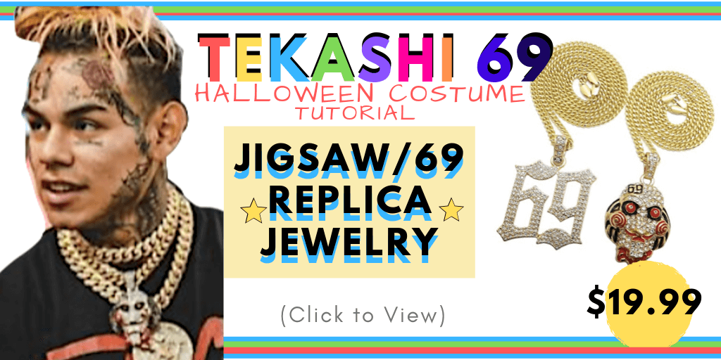 69 Chain Jigsaw: Tekashi 69 Halloween Costume Tutorial